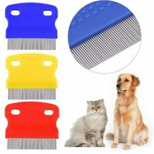 1Pcs Stainless Steel Tooth Tear Eye Care Stain Remover Comb Dogs Hair Rake