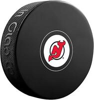 New Jersey Devils Unsigned InGlasCo Autograph Model Hockey Puck - Fanatics