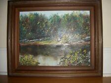 COYLE     Original  oil Painting on canvas  Landscape  Framed signed