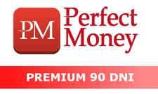 e-VOUCHER PERFECT MONEY 14$ - 90 PREMIUM