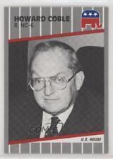 1989 NEA-PAC Congress House of Representatives #HOCO Howard Coble Card 0w6