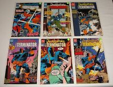 **DEATHSTROKE THE TERMINATOR #1-6 SET LOT RUN**(1991, DC)**WOLFMAN**NM/VF**HOT**
