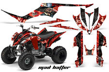 ATV Decal Graphic Kit Quad Sticker Wrap For Yamaha Raptor 350 2004-2014 MAD K R