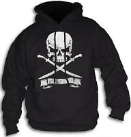 Skull Sword Snitches Get Stitches Mens Womens Teens Hoody + FREE T SHIRT Sm 2XL