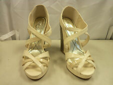 Baby Phat New Womens Juno Nude Wedge Sandals 9 M Shoes