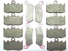 12 Front Rear Brake Pads For BMW R 1200 R1200 GS R1200GS Adventure 2008 2009 SET