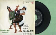 FERNANDEZ PRAY Mañana - Cachito TELEFUNKEN TFK13.047 Pressing Spain 1963 EP VG+