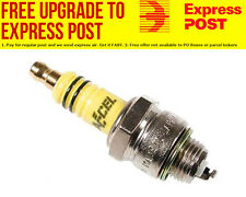 """Accel U-Groove Shorty Spark Plugs 3/8"""" reach, Projected tip, Gasket seat, Set of"""
