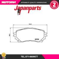 PA350AF Kit pastiglie freno a disco ant Mazda 6 (MARCA-JAPANPARTS)
