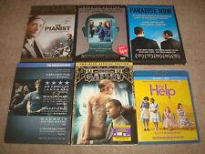 Oscar Drama Dvd Blu-ray Lot Pianist Being John Malkovich The Help Great Gatsby