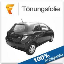 Passgenaue Tönungsfolie Toyota Yaris III / 3 Türer Bj ab 2011