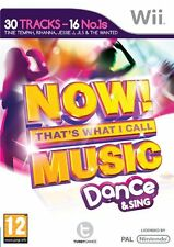 Now That's What I Call Music Dance & Sing Wii NEW and Sealed Not Budget Release