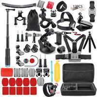 Accessories Set Mount for Gopro go pro hero8 7 6 5 4 /Xiaomi yi selfie stick Kit