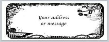 30 Personalized Return Address Labels Music Notes Buy 3 get 1 free (bo 757)