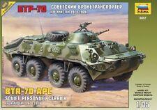 ZVEZDA 3557 BTR-70  APC SOVIET PERSONNEL CARRIER AFGHANISTAN WAR 1/35 NEW