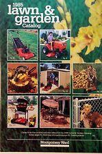 Montgomery Ward 1985 Farm Lawn Garrden Tractor Mtd Gilson Engine Catalog Manual