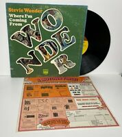 """STEVIE WONDER - Where I'm Coming From - 1971 Tamla Records TS-308 """"VG+"""""""