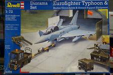 1 : 72 Revell 04376 Diorama Set Eurofighter Typhoon Bausatz - Ungebaut in OVP