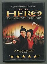 Hero Jet Li Dvd Zhang Ziyi Quentin Tarantino Martial Arts Classic