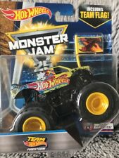 Bnib Monster Jam Hot Wheels Team Truck 1:64 size Diecast #4 Tour Favorites