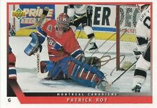 PATRICK ROY autographed trade card