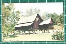 (CWC) Malaya 1950s/1960s Malay House, Seremban Park Postcard #3317 Near Mint