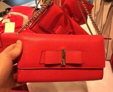 NWT Kate Spade  Parchment Drive Milou Leather Wallet WLRU2541 - Geranium