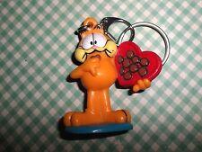 Garfield Vintage PVC Keychain Box of Chocolates SWEET Valentine's Day