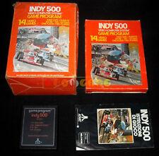 INDY 500 + DRIVING CONTROLLERS (CX 2611 1) Atari Vcs 2600 Vers Italiana COMPLETO