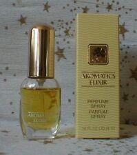 Miniatur AROMATICS ELIXIR von Clinique, reines Parfum, Spray mit Box