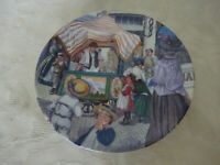 Royal Worcester Collectors Plate Good Old Days Collection The Hokey Pokey Man