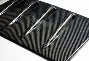 For 15-18 Subaru WRX STI Real Carbon Fiber Shark Fin Rear Roof Vortex Spoiler