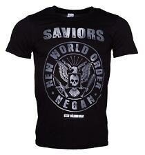 Official The Walking Dead - Saviors New World Order Negan Unisex Tshirt Horror