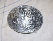 1995 HESSTON NATIONAL FINALS RODEO BELT BUCKLE ~ LIMITED EDITION ~ NEW & SEALED