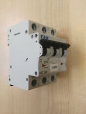 Eaton FAZ Reja de desminado Mini Interruptor de circuito 3P, 63 a, 10 Ka, curva C