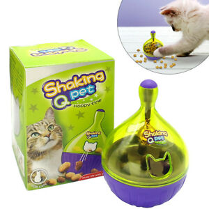 Slimcat Interactive Feeder Cat Toy Puzzle Food Leakage Dispenser Slow Feeder