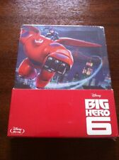 BIG HERO 6 - 1 BLURAY EDICION ESPECIAL EN STEELBOOK - NEW, SEALED NUEVA EMBALADA