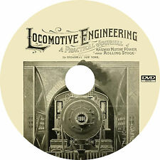 Railway and Locomotive Engineering (432 Issues) Journal Books on DVD
