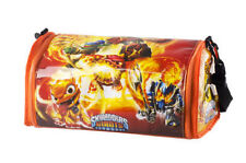 Rare Molten Hot Dog Skylanders Giants Carrying Case Storage Holds 32 Figures
