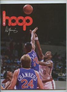 1990 1991 NBA Basketball HOOP Program Golden State Warriors LA Clippers Unscored