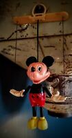 Vintage MICKEY MOUSE Marionette Plastic