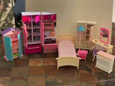 New ListingBarbie Doll Furniture Lot from 2000 + Kitchen Set