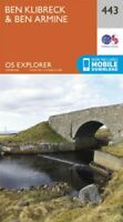 Ben Kilbreck and Ben Armine by Ordnance Survey 9780319246863 | Brand New