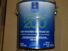 case of 4 new Sherwin Williams pro mar 200 interior latex extra white 1 gal