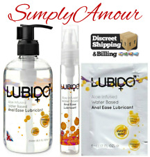 Lubido Lube Anal Bum Sex Lubricant Super Slik KY Jelly Gel Water Based 5-250ml