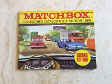 Matchbox Collector's Catalog ,U.S.A. 2nd Edition, 1969 new old store stock,