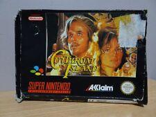 Cutthroat Island... Super Nintendo Game