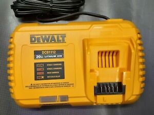 Dewalt DCB1112 20v/60v Fast Charger - New Open Box