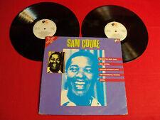 "SAM COOKE 1982 BRITISH PRESSING DOUBLE LP ""SAM COOKE"" ON CLASSIC SOUL POP VINYL!"