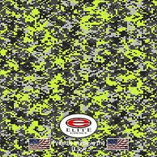 "Digital Camo Yellow DECAL 3M WRAP VINYL 52""x15"" TRUCK PRINT REAL CAMOUFLAGE"